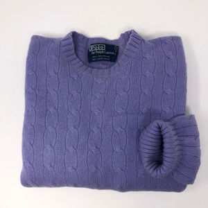 Polo Ralph Lauren Cable Scoop Neck Knit Sweeter